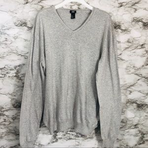 H&M Grey Sweater Size XL